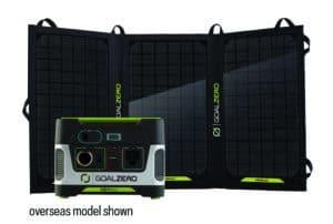 Yeti 150 Kit Nomad 20 Overseas Model