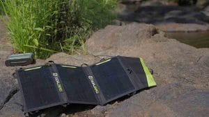the best way to collect store and use portable solar power