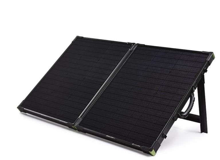Boulder 100 Briefcase Goal Zero Portable Solar Panel