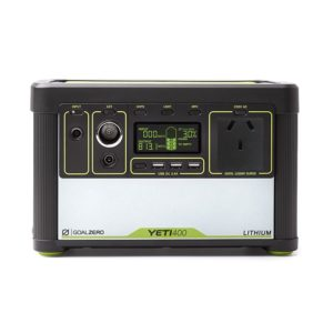 Lithium Yeti 400 Goal Zero Portable Power Pack