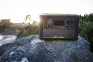 Lithium Yeti 1400 portable power pack